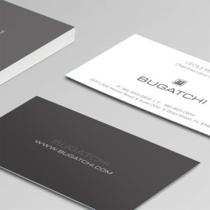 Bugatchu Business Cards