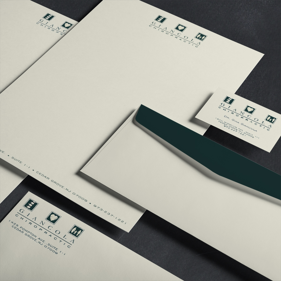 Giancola Chiropractic Corporate Identity