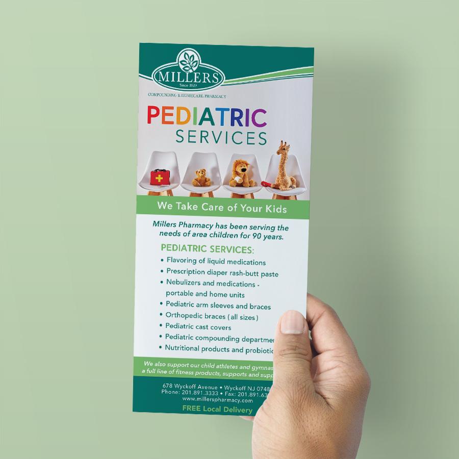 Millers Pharmacy Pediatrics Brochure