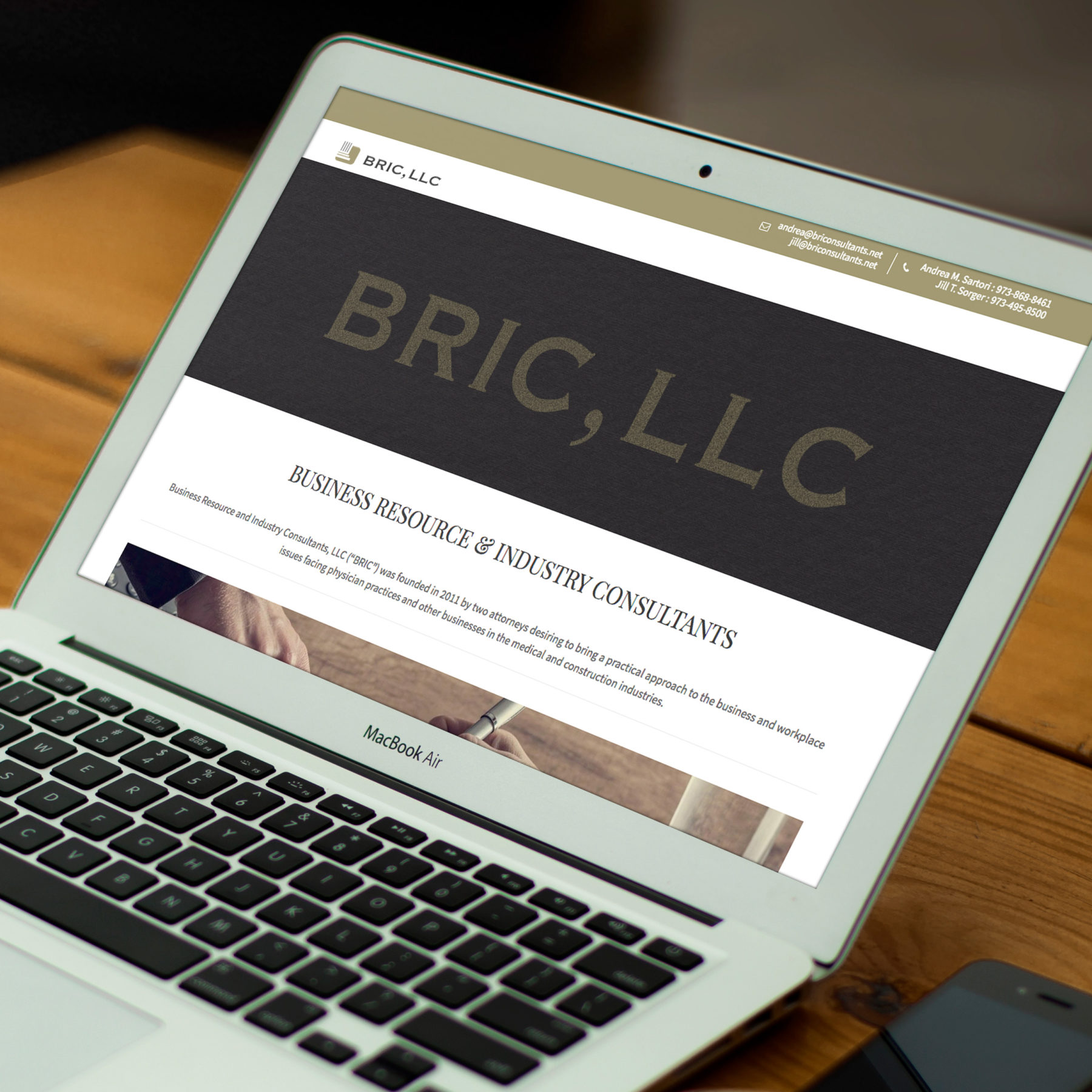 Bric, LLC. Website