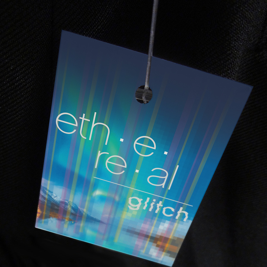 Ethereal Glitch Hangtag