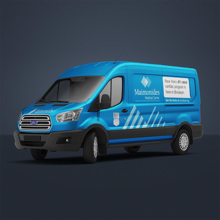 Maimonides vehicle wrap
