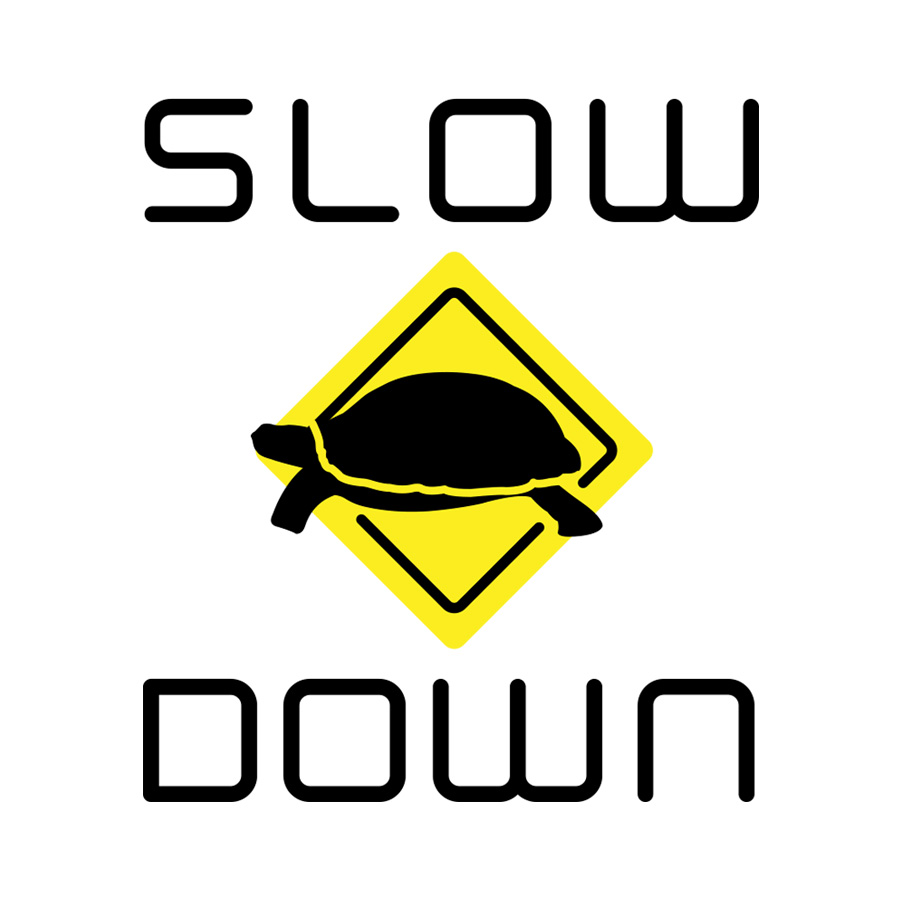 Slow Down Logo
